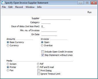 HansaWorld Integrated ERP And CRM - Openinvoice supplier link