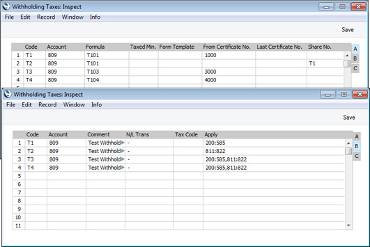hansaworld - integrated erp and crm, Invoice templates