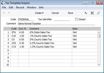Tax Ledger Template from www.hansamanuals.com